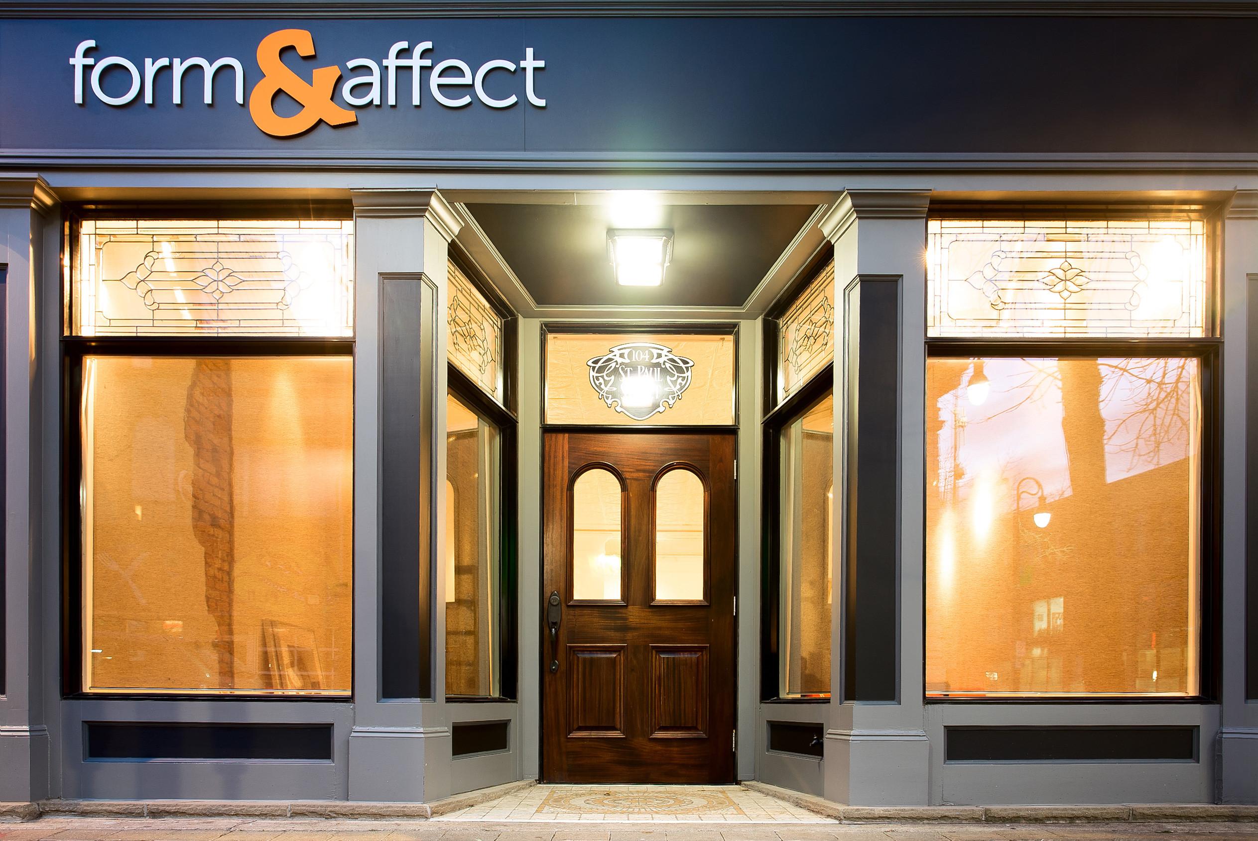 Form & Affect