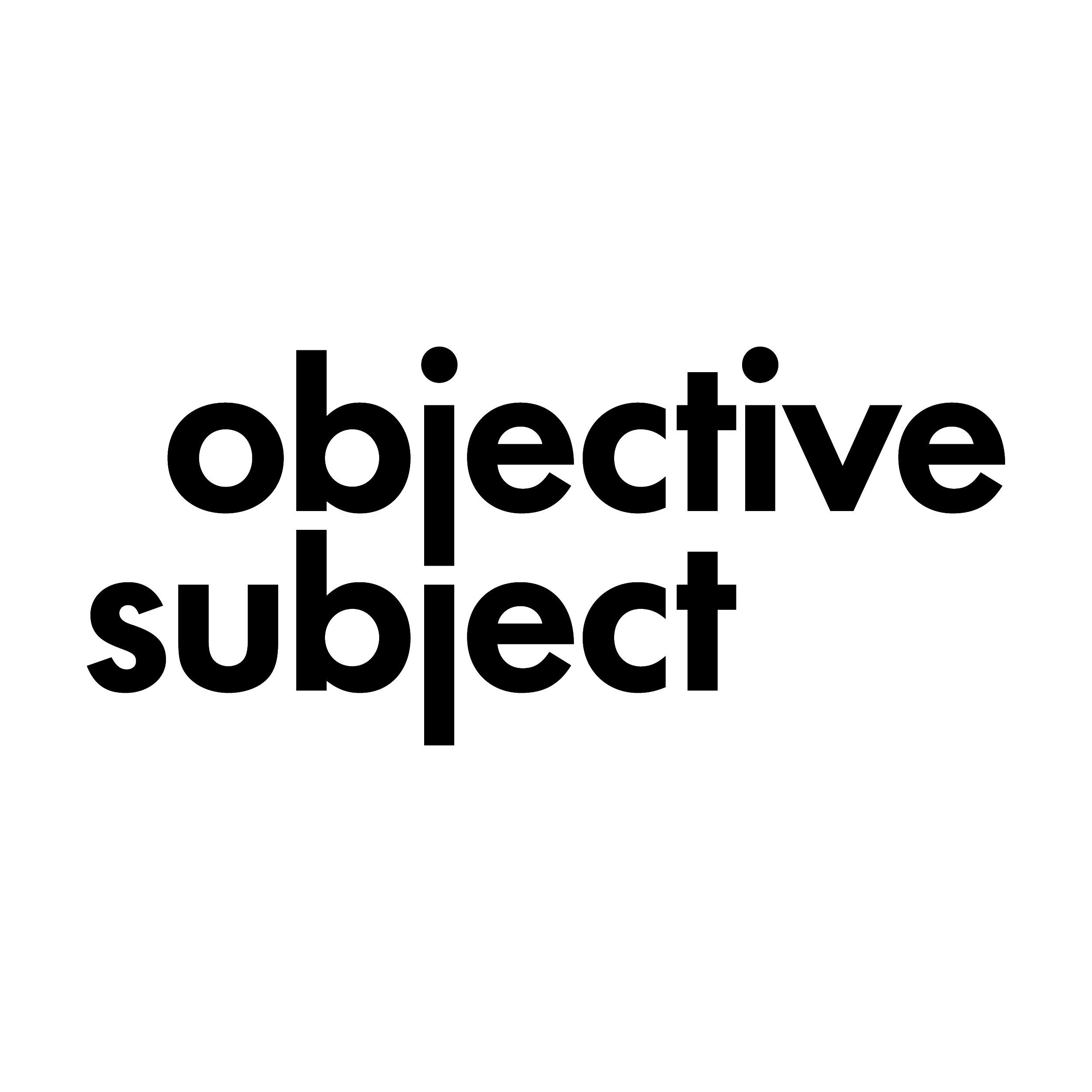 Objective Subject